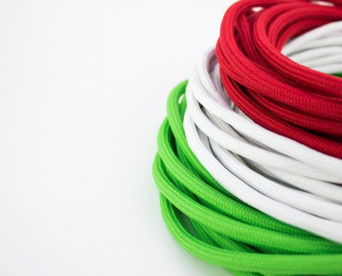Cavi tessili colori italia